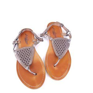 Lucky Brand Thong Copper Summer Sandals